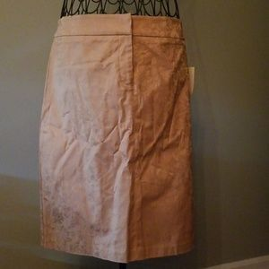Worthington gold/tan pencil skirt 12